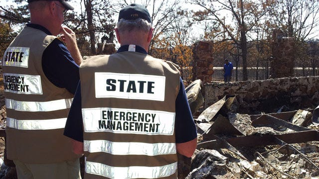 Governor, Federal Officials Tour Wildfire Damaged Counties
