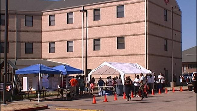Tulsa Health Center Offers Free Meals For Homeless