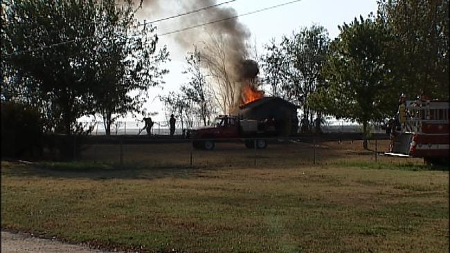 Wildfires Contained In Oak Grove Area, One Structure Destroyed
