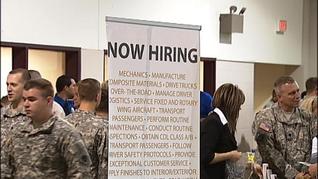 Guard Aims To Curb Unemployment Rate Of Oklahoma Veterans