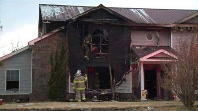 Teen Flown To Tulsa Hospital After LeFlore County House Fire