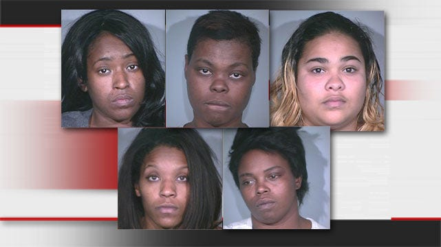 Five Women Arrested For Shoplifting In Tulsa And Broken Arrow