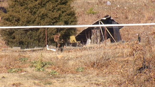 Man Dies In House Fire In Mayes County