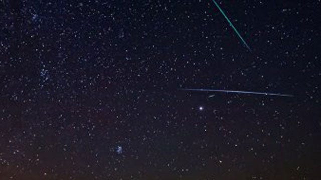 Oklahomans Should Have Good Chance To See Geminid Meteor Shower