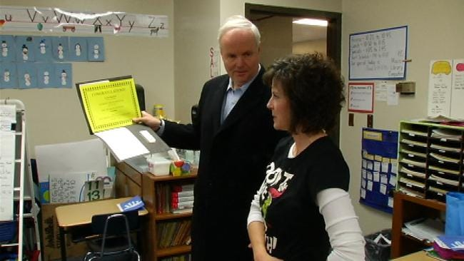 Education Foundation Gives $58,000 In Grant Money To Sand Springs Schools