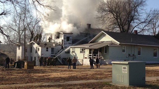 Abandoned Tulsa Home Damaged By Fire