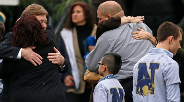 First Funerals Held For Victims Of Newtown, Connecticut School Shooting