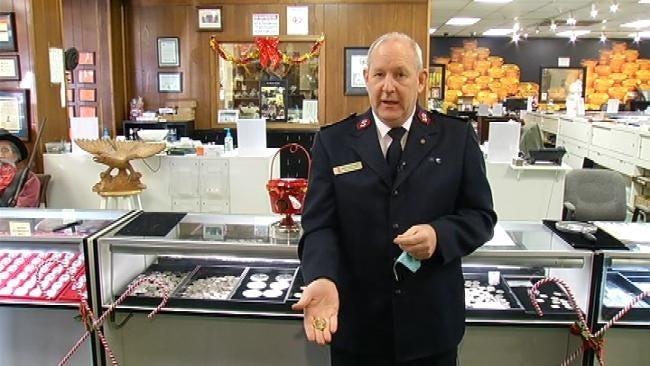 Secret Santa Drops Gold Krugerrand In Tulsa Salvation Army Kettle