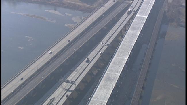 Tulsa's Newest Bridge Over Arkansas River Set To Open Wednesday Night