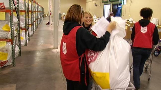 Angel Tree Recipients Begin Receiving Gifts