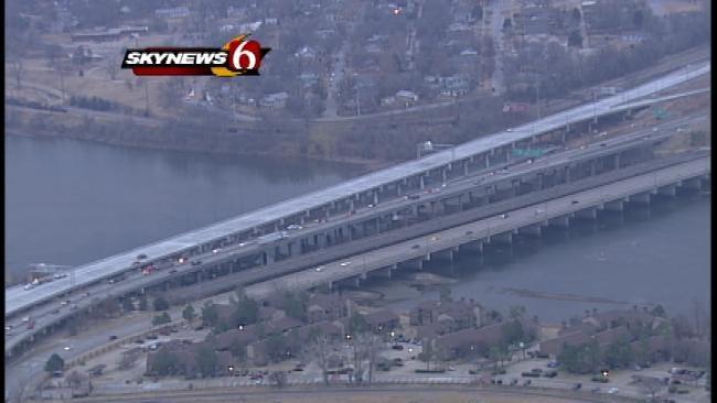 New I-244 Bridge Over Arkansas River Opens