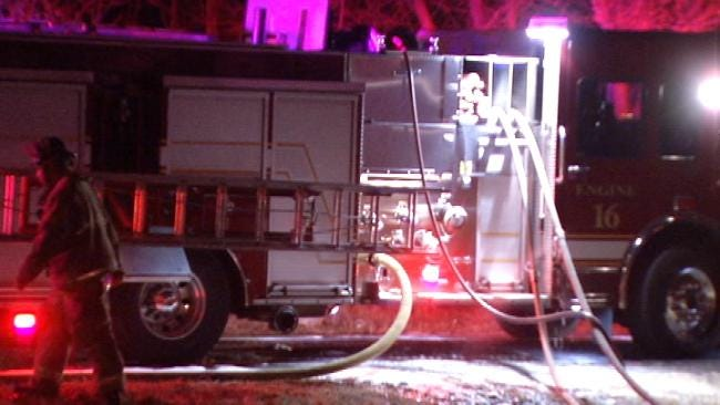 North Tulsa Home Destroyed By Fire