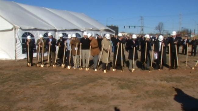First Oklahoma Bank Breaks Ground On New HQ In Jenks