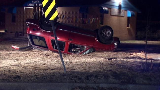 Street Racing, Texting Involved In Tulsa Rollover Wrecks