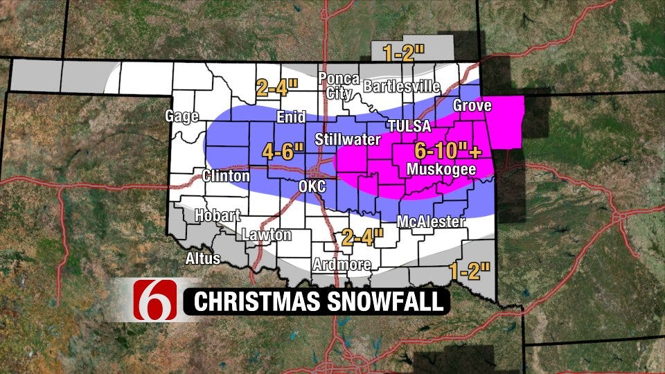 Christmas Snowstorm Update