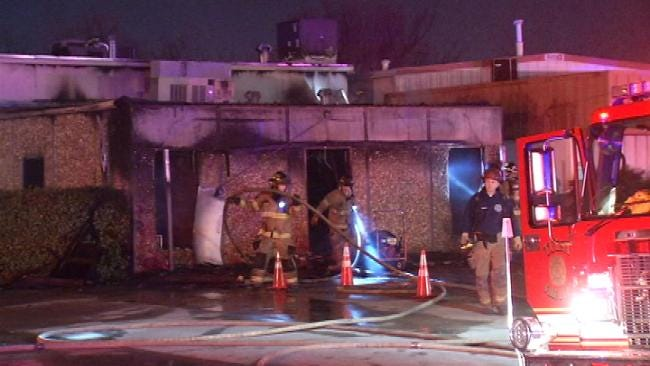 Tulsa Disaster Restoration Company Damaged By Fire