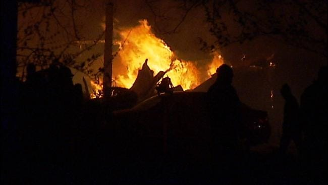 Catoosa Home Destroyed By Fire Tuesday Evening