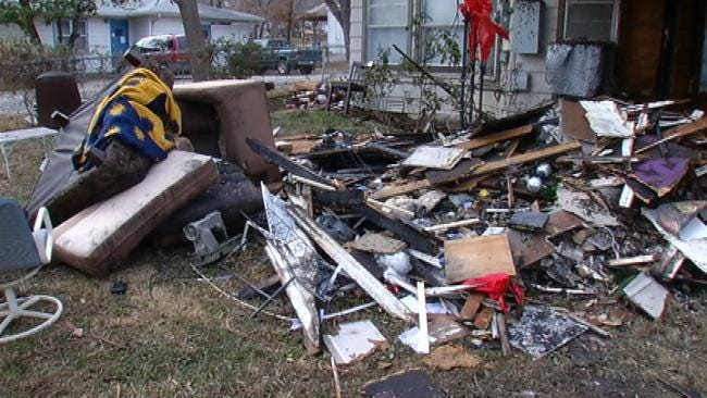 Tulsa Couple With 3 Foster Children Displaced By House Fire Wednesday