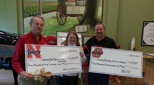 Tulsa-Area Alumni Groups Raise Enough For Food Bank To Feed 30,000