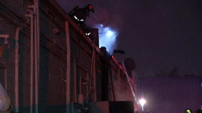 East Tulsa Strip Mall Damaged By Fire