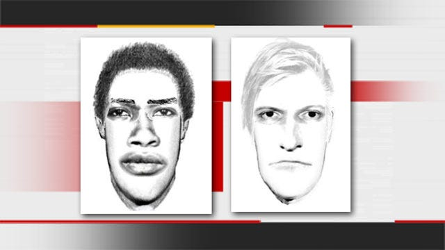 Tulsa Police Release Sexual Assault Suspect Sketches