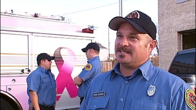 TFD Captain Injured In School Fire Returns To Work