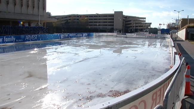 Warm Weather Puts Damper On Tulsa's Winterfest