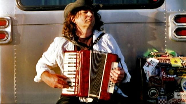 Musician's Missing Accordion Lands Under Tulsan's Christmas Tree