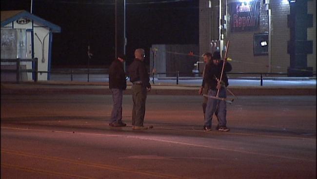 Police Investigate Suspicious Devices In South Tulsa Street