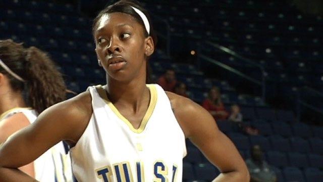 Tulsa Women Fall To SFA Despite Mayberry's Career Day