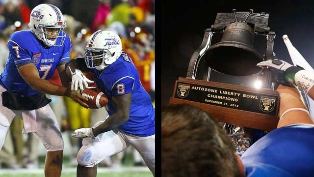 Tulsa Rings In New Year With Liberty Bowl Title
