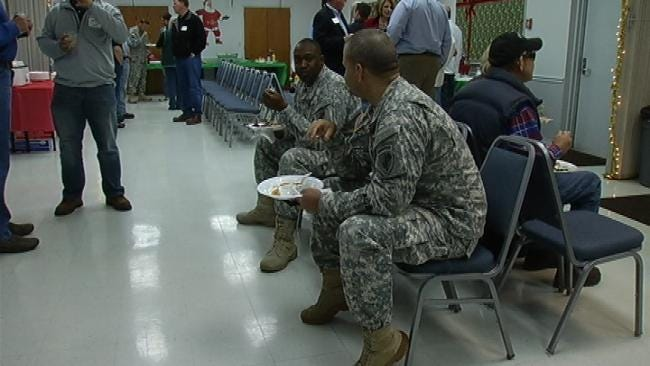 Oklahoma Businesses Hold Toy Drive For Kids Of Deployed Soldiers