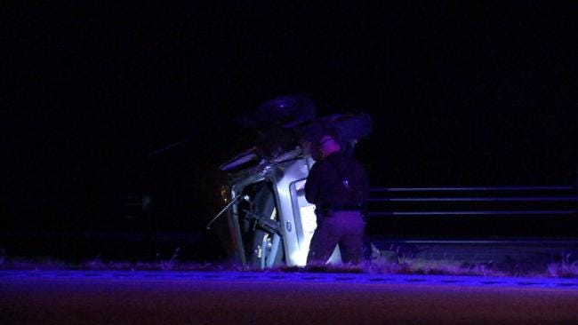 Texting While Driving Causes Teen To Roll Car On Highway 75