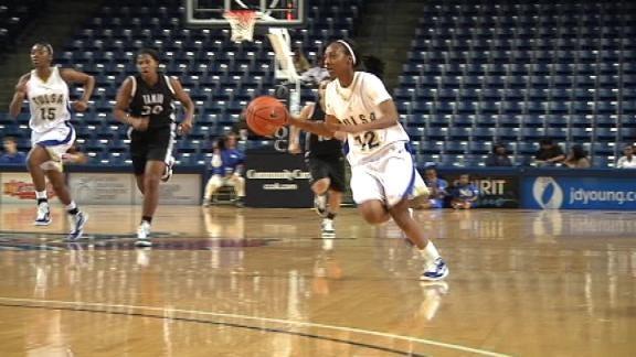 Tulsa Women's Basketball Squeaks By Nebraska-Omaha