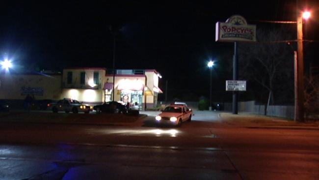 Customer Waits Until Closing To Rob Tulsa Popeye's
