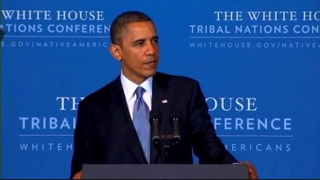 Tribal Leaders Meet With President About Fiscal Cliff