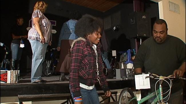Tulsa Organization Rewards Hard Working Kids With Their Own Bicycles