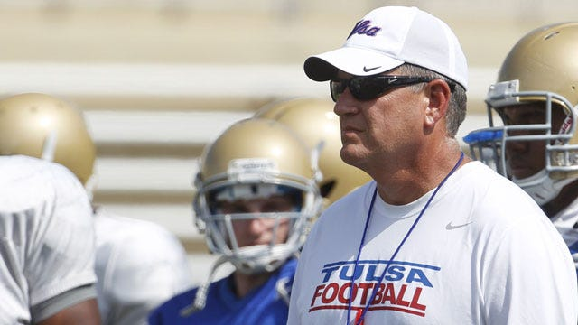 Tulsa's Blankenship Named C-USA Coach Of The Year