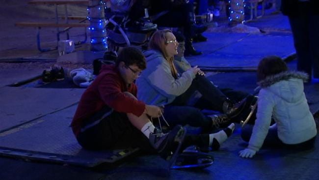 Downtown Tulsa's Winterfest Opens To Crowd Of Holiday Cheer
