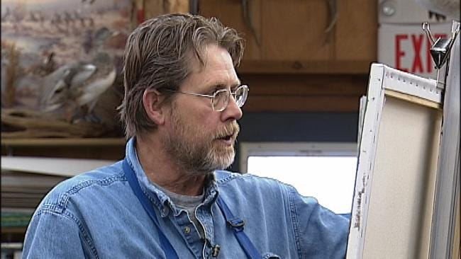 Oklahoma's Own: Green Country Artist Living Out His Dream