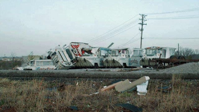 EF2 Tornado Tears Through Branson, Missouri