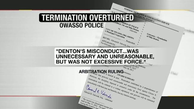 Owasso Cop Fired For Excessive Force Speaks Out About Video