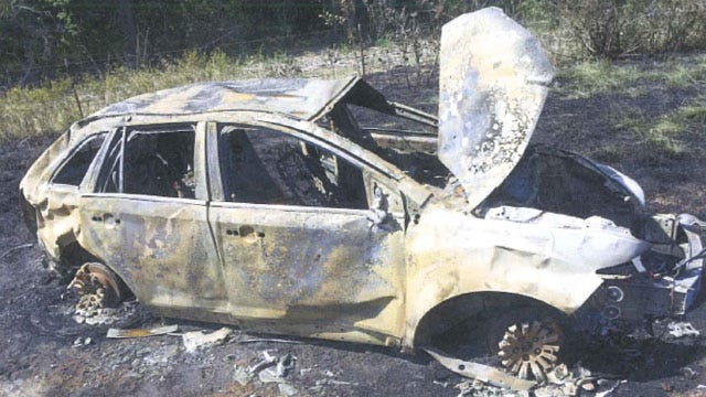 Civilian Heroes Rescue Man From Burning Car