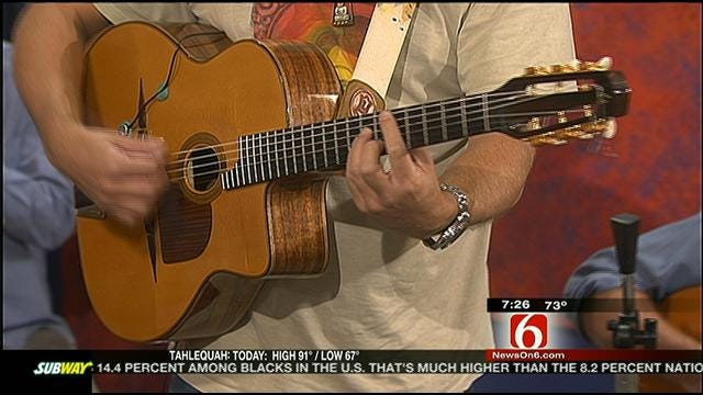 Stephane Wrembel's 'Gypsy Jazz' Takes Over Six In The Morning