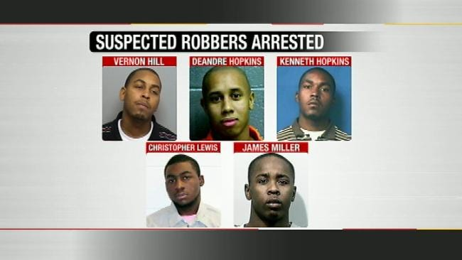 Police: Eight Gang Members Indicted For Multiple Bank, Pharmacy Robberies