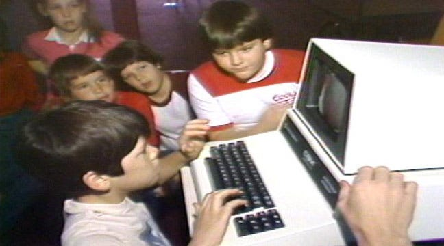 From The KOTV Vault: Commodore Computer Comes To Union Schools In 1981