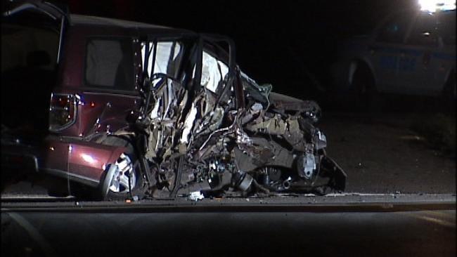 Police Name Driver In Broken Arrow Injury Wreck
