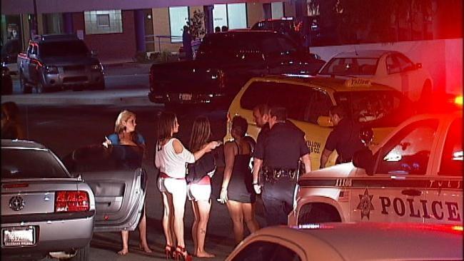 Tulsa Bar Fight Spills Into Cherry Street