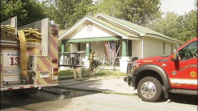 Investigators Called To West Tulsa House Fire