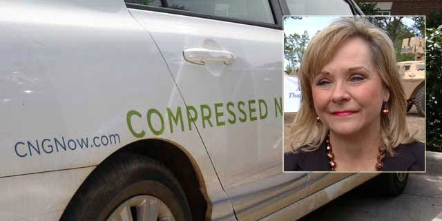 Oklahoma Governor Mary Fallin In Detroit To Promote CNG Vehicles
